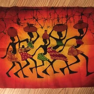 African Wax Batik Art